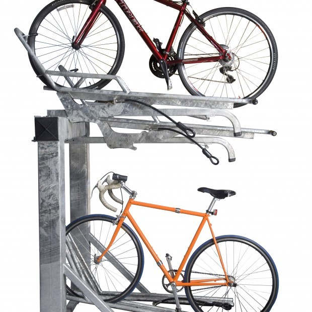 Saris Bike Parking Solution Stack Rack