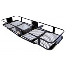 Curt 2 Piece Basket Cargo Carrier - Folding Shank 18131